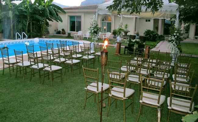 Renta de Sillas Tiffany en Monterrey - Tel 82 25 72 60